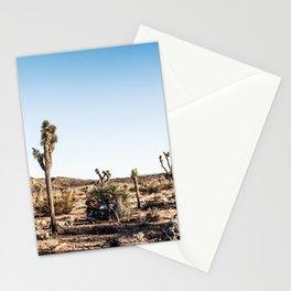 Joshua Tree Desert Moto Ride Stationery Cards