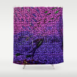 Eye can see Fish Shower Curtain