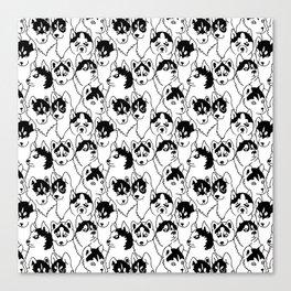 Oh Husky Canvas Print