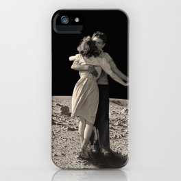 Give Me The Moon iPhone Case