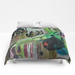 Taiwanese garden Comforters