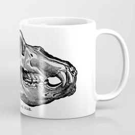 Cave Bear Skull Coffee Mug