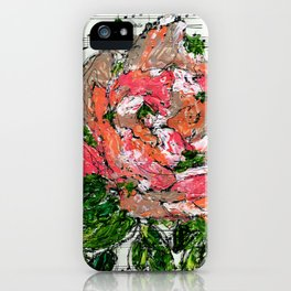 Phantom - Floral - Piano notes iPhone Case