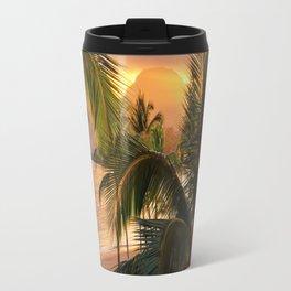 Kauai Tropical Island by OLena Art Travel Mug