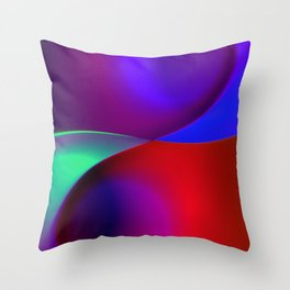 a towel full of colors -11- Throw Pillow