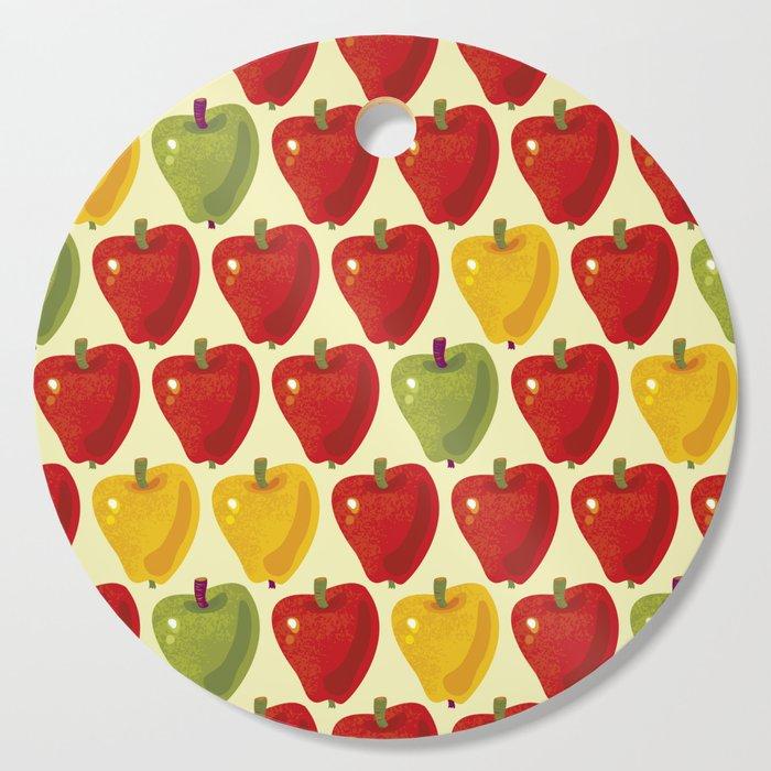 Sweet Apples Pattern Cutting Board