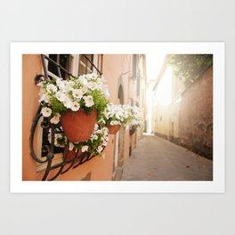 Lucca, Italy  Art Print
