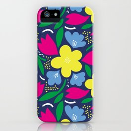 Floral Festival iPhone Case