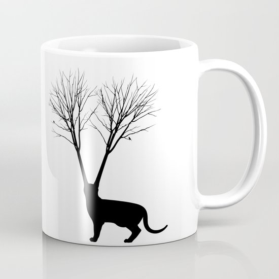 Cat Tree Coffee Mug