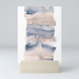 141203 Abstract Watercolor Block 8 Mini Art Print
