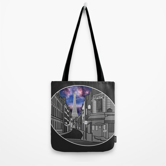 Paris: The Center of the Universe Tote Bag