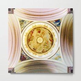 Madonna San Luca Cupola Metal Print