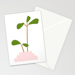 Fiddle Leaf Fig Tree Plant Stationery Cards