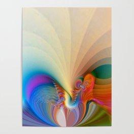 Love Rainbow Poster