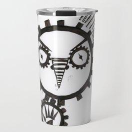 Clockwork Owl Travel Mug