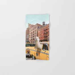 Alpaca in New York Hand & Bath Towel
