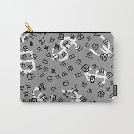 pattern with currency Carry-All Pouch