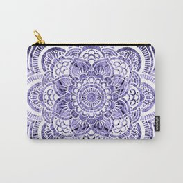 Mandala Lavender Colorburst Carry-All Pouch