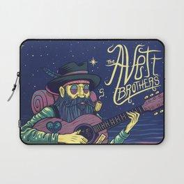 the avett brothers guitar tour 2019 basket Laptop Sleeve