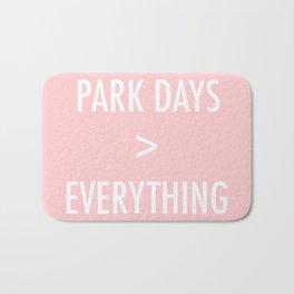 Park Days Over Everything Bath Mat