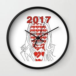 JACINDA 2017 Wall Clock
