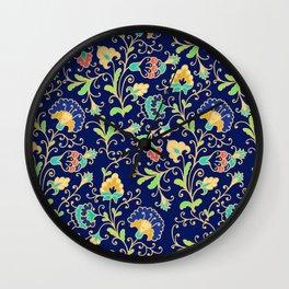 Night garden Wall Clock