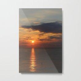 Into the Sunrise Metal Print