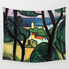 Henri Matisse View of Collioure II Wall Tapestry