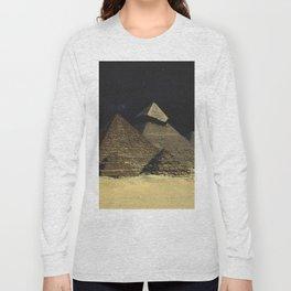 Space Pyramids Long Sleeve T-shirt