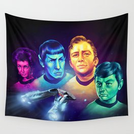 The Final Frontier Wall Tapestry