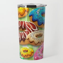 Donuts Party Time Travel Mug