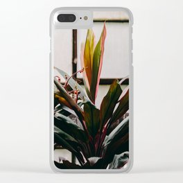 Hothouse Clear iPhone Case