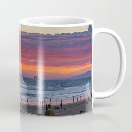 Red Clouds at Sunset on the Northside Coffee Mug