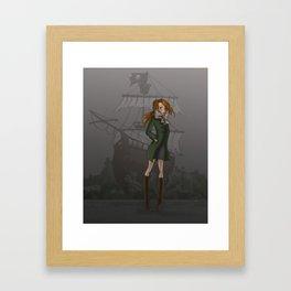 Flibustière Framed Art Print