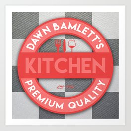 DB Kitchen Art Print