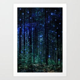 Magical Woodland Kunstdrucke