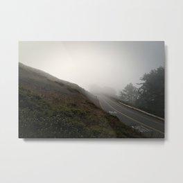 Fogbound on Twin Peaks, I  Metal Print