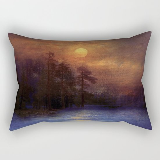 Hope in the blue water Rectangular Pillow