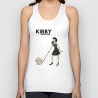 kirby Tank Tops featuring Kirby Hoover by Lily's Factory