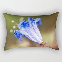 Desert Bluebell In Bloom Rectangular Pillow