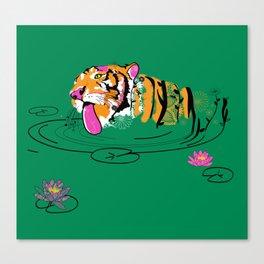 Tigar Lily Canvas Print