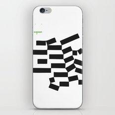 piano signori iPhone & iPod Skin