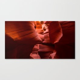 Rock Maze Canvas Print