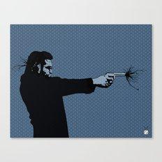Kittappa Series - Blue Canvas Print