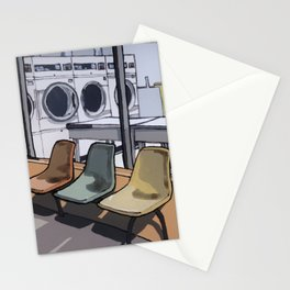Coin Laundry Stationery Cards