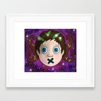 fairies Framed Art Prints featuring Fairies! by Grace Isabel
