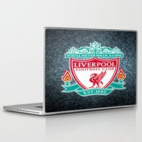 liverpool Laptop & iPad Skins featuring LIVERPOOL by Acus