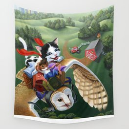 On Our Way Wall Tapestry