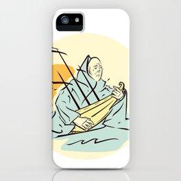 tragedy iPhone Case