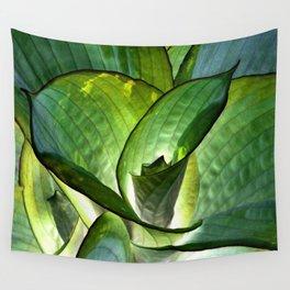 Hosta - Inverted Art Wall Tapestry